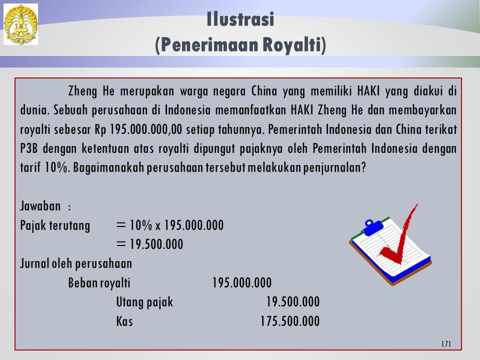 Perjanjian Penghindaran Pajak Berganda (P3B) WP luar negeri dapat dikenai pajak di Indonesia sekaligus di negara asal.