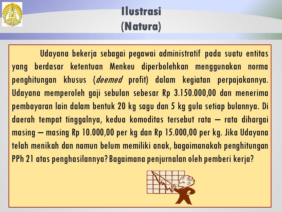 Jawaban: Langkah (2)PBS= 4.384.800 x 12 = 52.617.600 PBS + IT= 52.617.600 + 6.500.000 = 59.117.600 (PBS + IT) < 120.000.000, maka: PPKP= 95% x 6.500.000 = 6.175.000 Langkah (3)BATM – PKPS= 50.000.000 – 19.452.720 = 30.547.280 PPKP < (BATM – PKPS), maka: PPh atas IT= 5% x 6.175.000 = Rp 308.750,00 Maka besaran PPH 21 atas THR yang diterima Ken Arok adalah Rp 308.750,00.