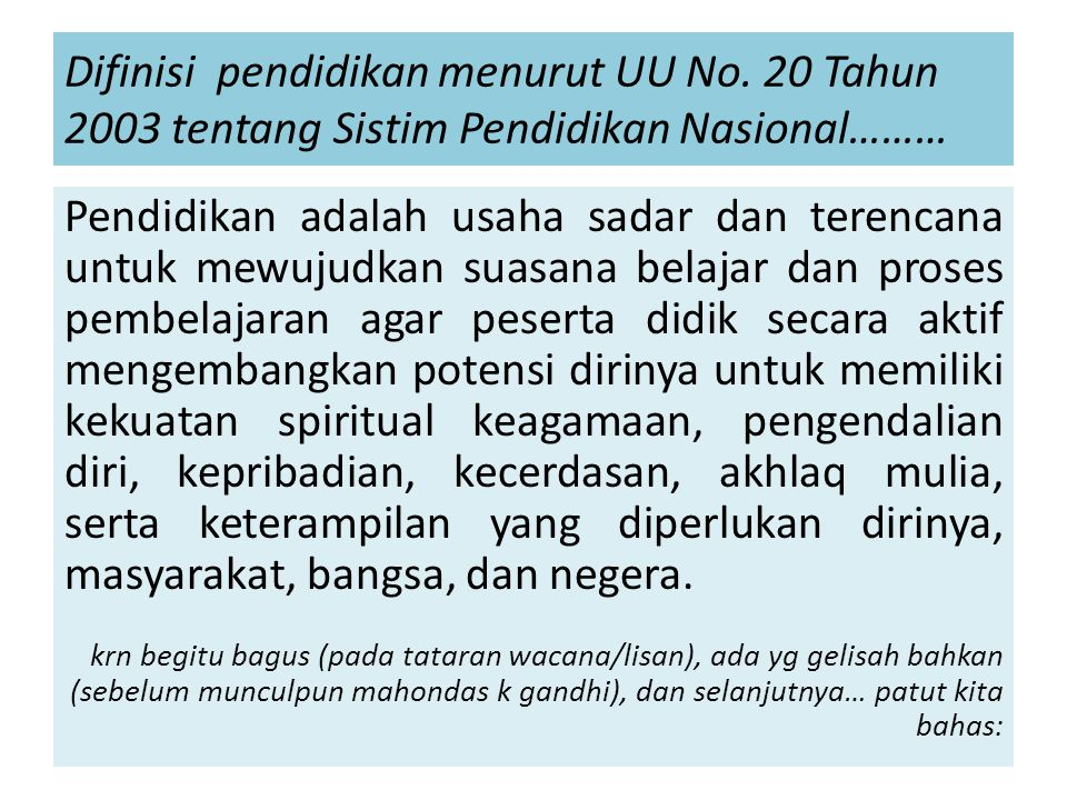 adalah Sidharta Susila seorang pendidik, tinggal di Muntilan menulis di harian Kompas, Senin 10 September 2012, judul : Tragedi Pendidikan Alenia 1 Ada ironi nan pilu dalam pendidikan kita.
