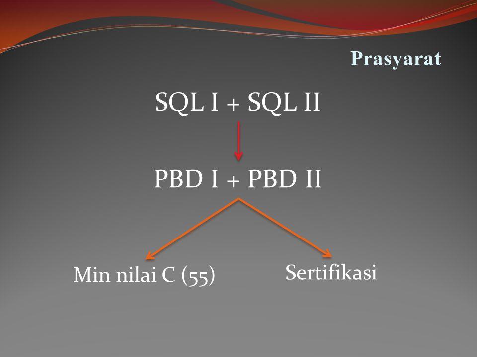 Tujuan Instruksional Umum Mahasiswa dapat membuat aplikasi pemrograman basis data dengan menggunakan PL/SQL