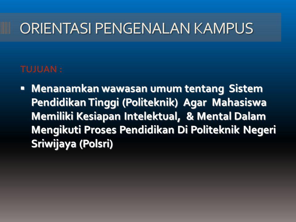 DAFTAR ULANG Mahasiswa wajib MENDAFTAR ULANG pada setiap awal semester pada Bank yang telah ditetapkan oleh POLSRI.