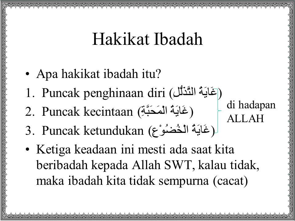 Umar bin Khattab •Umar bin Khattab mengeluh lalu masuklah Nabi SAW dan bersabda, Bagaimana perasaanmu, wahai Umar? Umar menjawab, Aku berharap dan cemas. Bersabda Nabi, Tidak berkumpul harap dan cemas, melainkan Allah akan memberi apa yang diharap dan memberi keamanan apa yang dicemaskan. (HR Baihaqi)