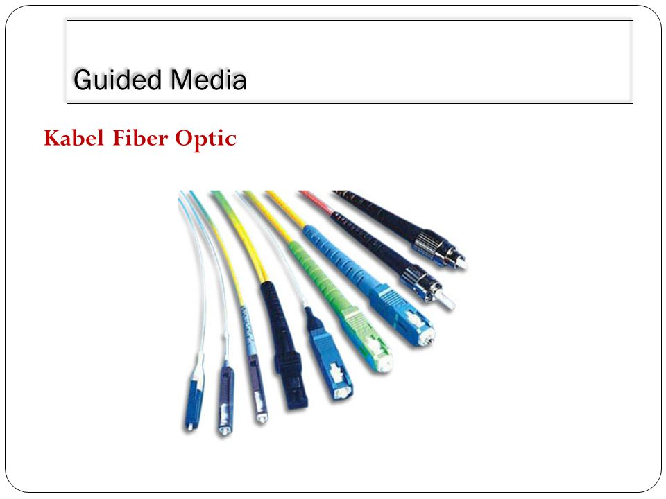 Guided Media Kabel Fiber Optic