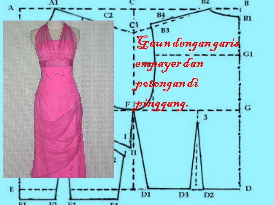 Penggunaan gaun • Pada umunnya gaun digunakan pada saat pesta atau di acara resmi tapi untuk saat ini banyak yang menggunakan gaun pada saat santai, bisanya yang digunakan yaitu mini dress.