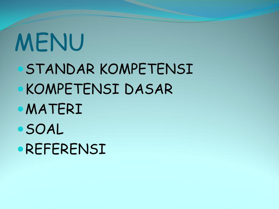 STANDAR KOMPETENSI  Menganalisis pemanfaatan dan pelestarian lingkungan hidup KOMPETENSI DASAR  Mendeskripsikan pemanfaatan lingkungan hidup dalam kaitannya bengan pembangunan berkelanjutan