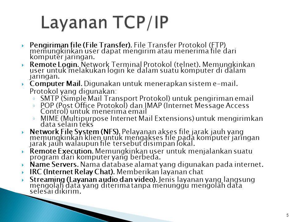  TCP merupakan connection-oriented, yang berarti bahwa kedua komputer ikut serta dalam pertukaran data harus melakukan hubungan terlebih dulu sebelum pertukaran data berlangsung (dalam hal ini email).