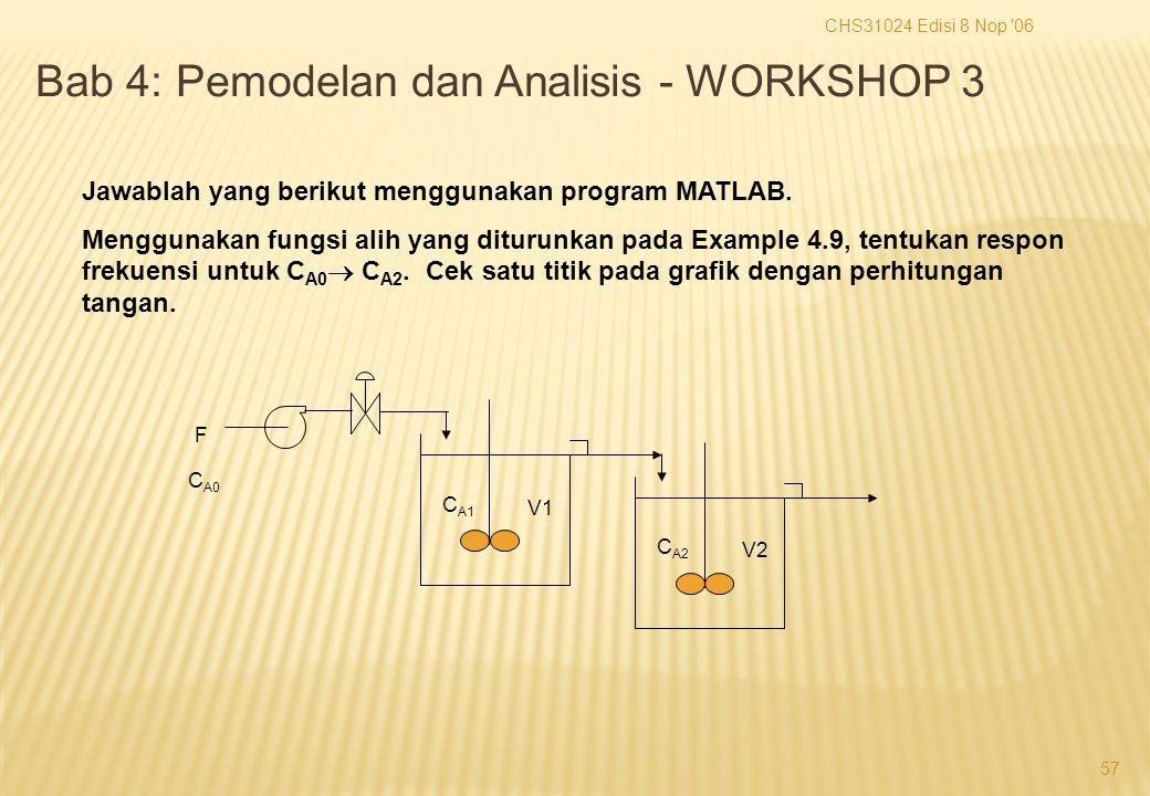 CHS31024 Edisi 8 Nop 06 57 F C A0 V1 C A1 V2 C A2 Jawablah yang berikut menggunakan program MATLAB.