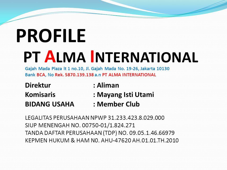 HEAD OFFICE Gajah Mada Plaza lt 1 #10, Jakarta 10130