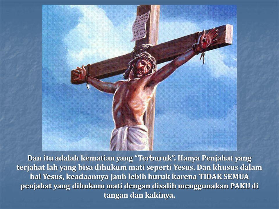 Dalam usia 33, Yesus dijatuhi hukuman mati
