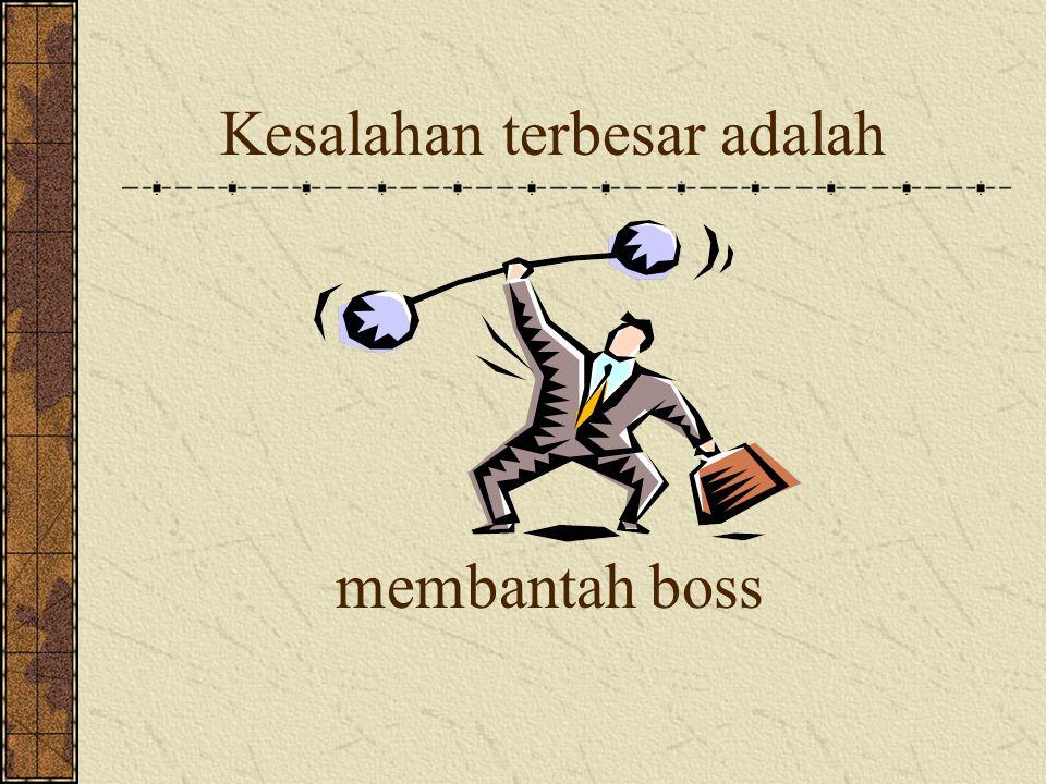 Penurunan semangat terbesar adalah terlambat menerima gaji