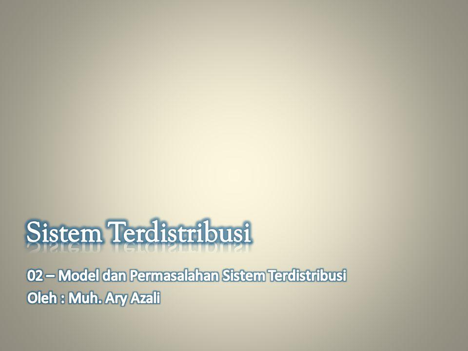 Model Sistem Terdistribusi 1.