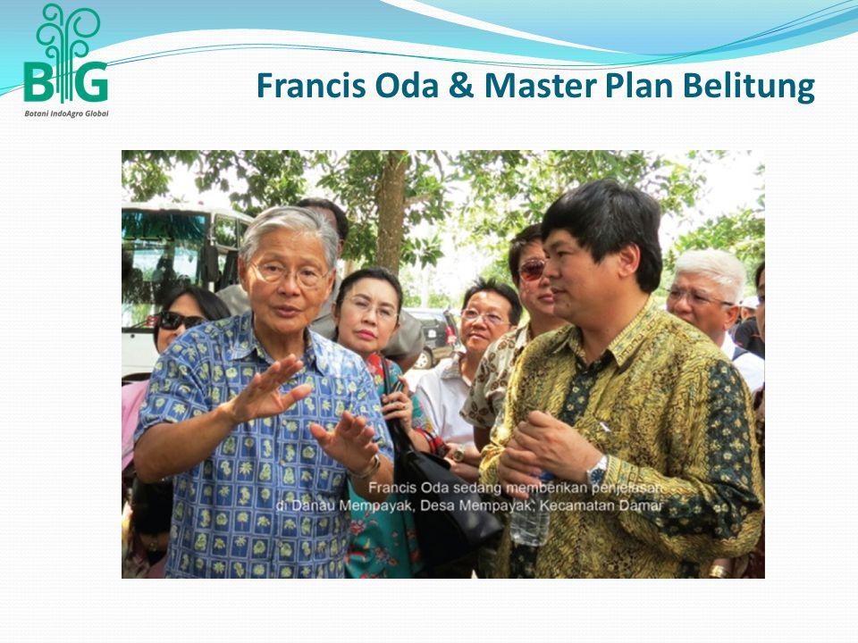 Francis Oda & Master Plan Belitung