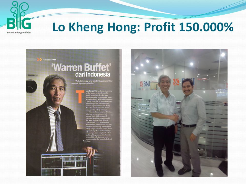 Lo Kheng Hong: Profit 150.000%