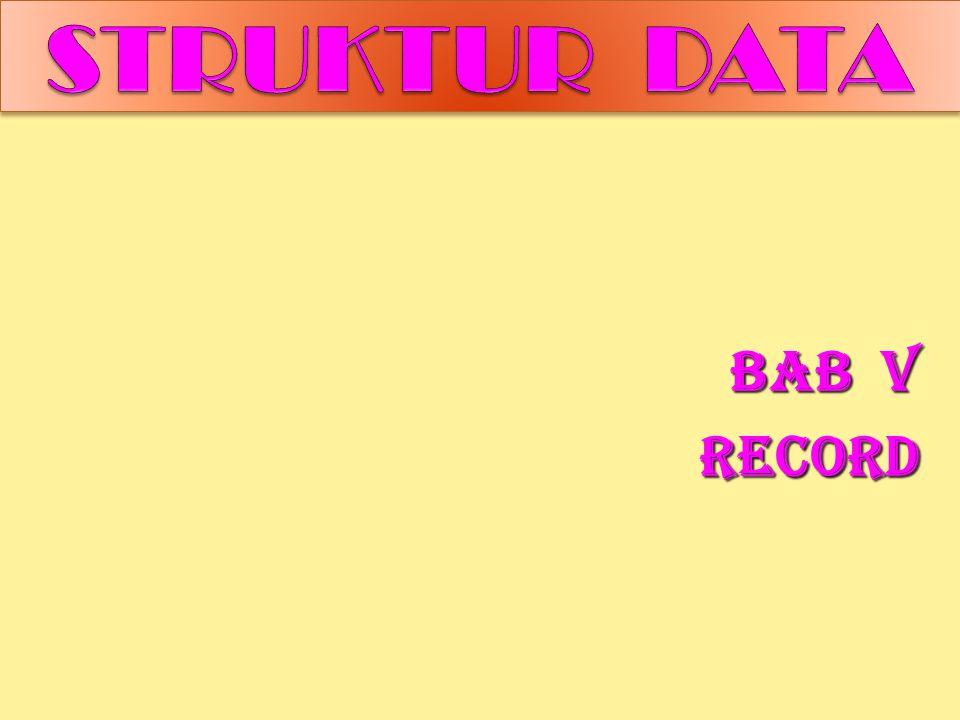BAB V RECORD