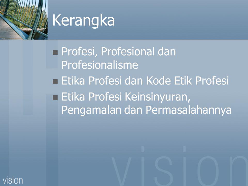 Apa yang Anda pikrkan tentang PROFESIONAL ?