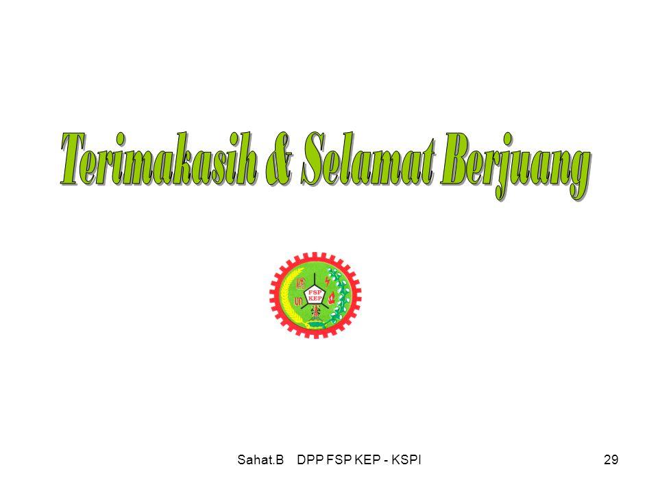 Sahat.B DPP FSP KEP - KSPI29