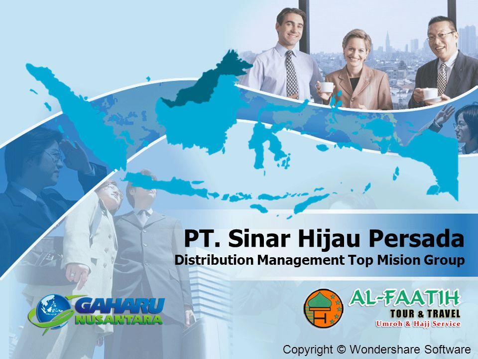 Copyright © Wondershare Software PT. Sinar Hijau Persada Distribution Management Top Mision Group