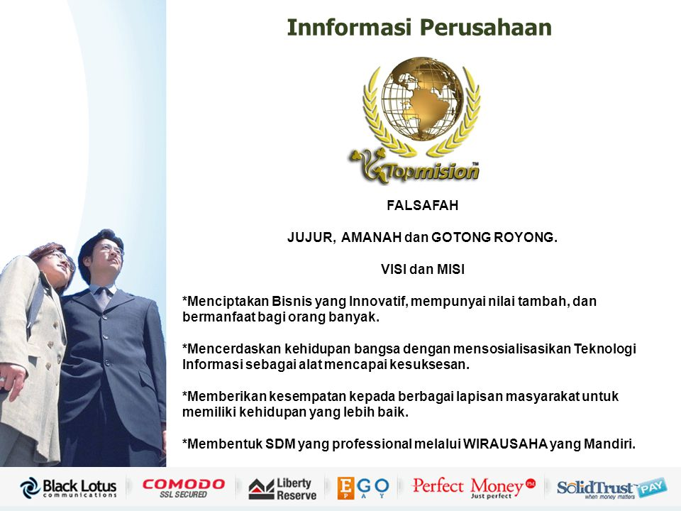 Copyright © Wondershare Software PT. Sinar Hijau Persada Distribution Management Top Mision Group