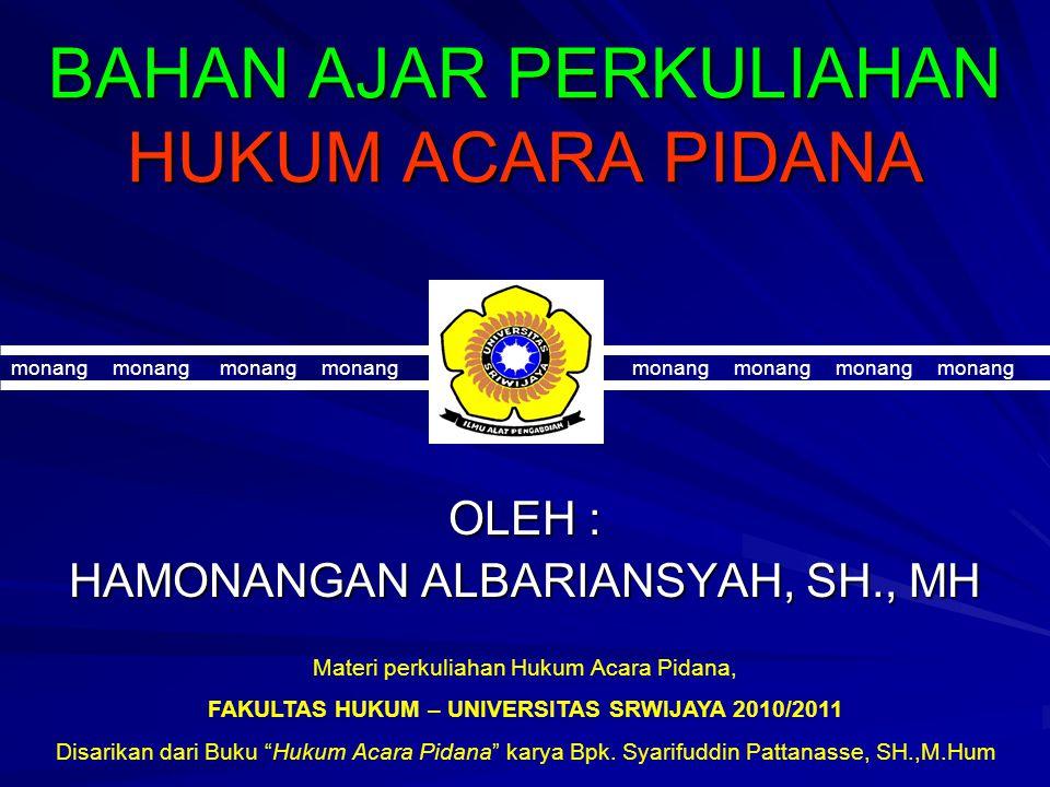 SELAMAT MENEMPUH UJIAN SEMESTER The End of Page Hamonangan A, SH.,MH