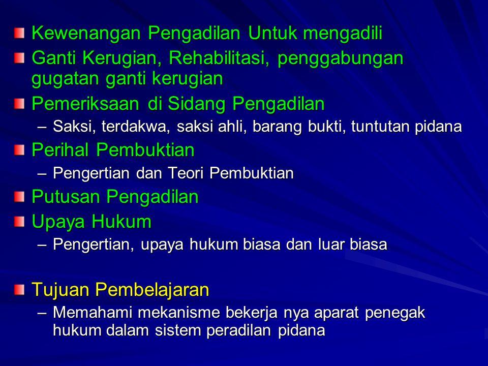Garis Besar Perkembangan Hukum Acara Pidana di Indonesia 1838  Belanda merdeka dari Prancis 1747  VOC telah membuat aturan sendiri bagi Hindia Belanda Penerapan Asas Konkordansi, pro (legisme)-kontra GubJen.