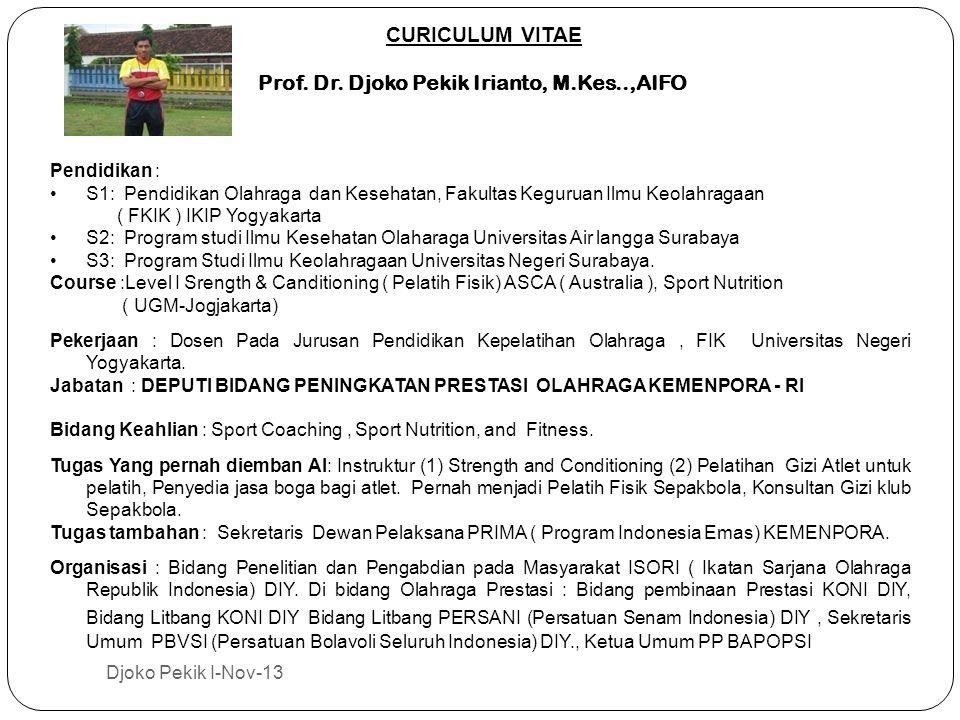 CURICULUM VITAE Prof.Dr.