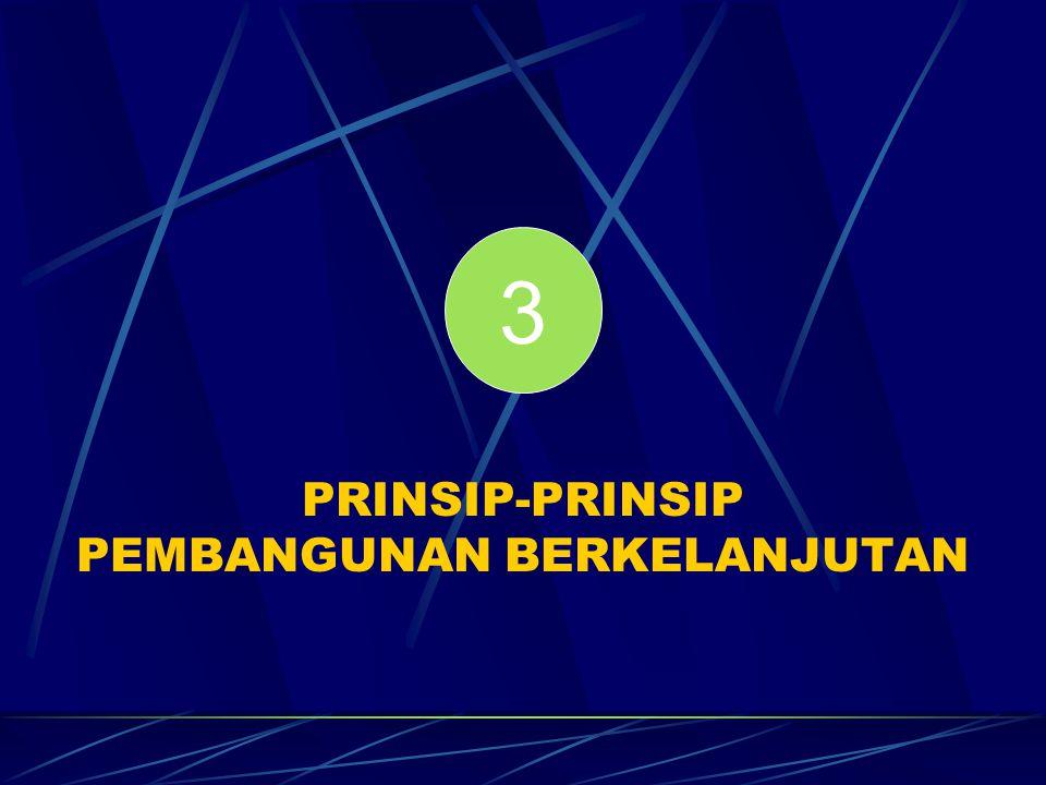 PRINSIP-PRINSIP PEMBANGUNAN BERKELANJUTAN 3