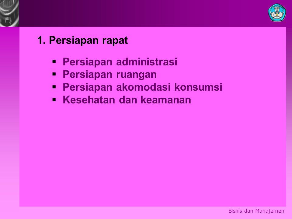 Bisnis dan Manajemen 1.