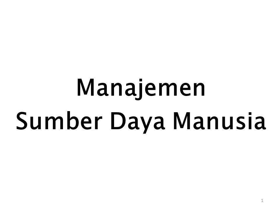 1 Manajemen Sumber Daya Manusia