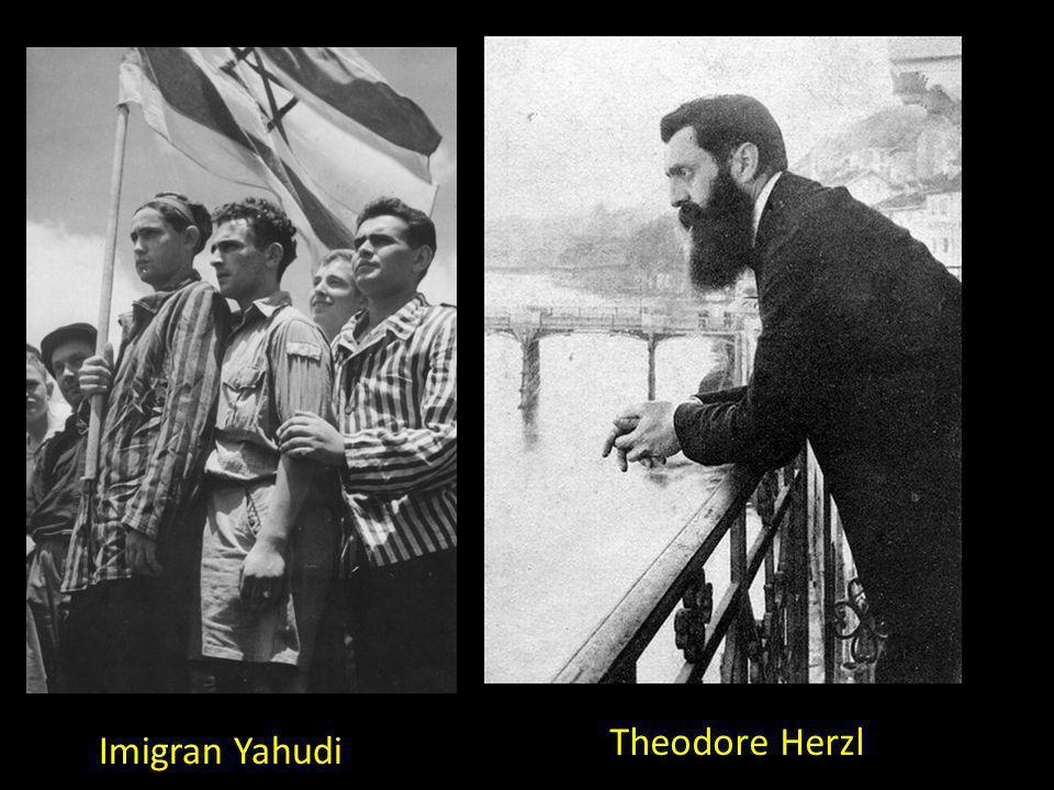 Imigran Yahudi Theodore Herzl