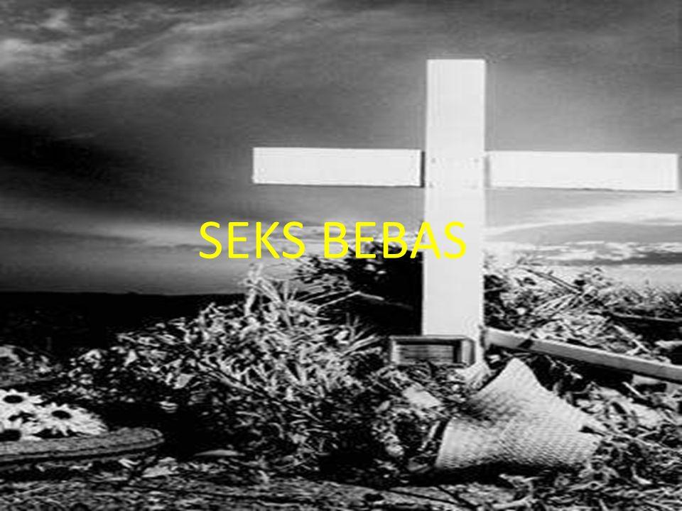 Wujud dari seks bebas ini tampak pada, antara lain: - Seks diluar nikah - Kumpul kebo - Kawin kontrak - Komersialisasi hubungan seks (penjualan jasa pelayanan seksual) Alkitab dengan tegas menolak perilaku seks bebas.