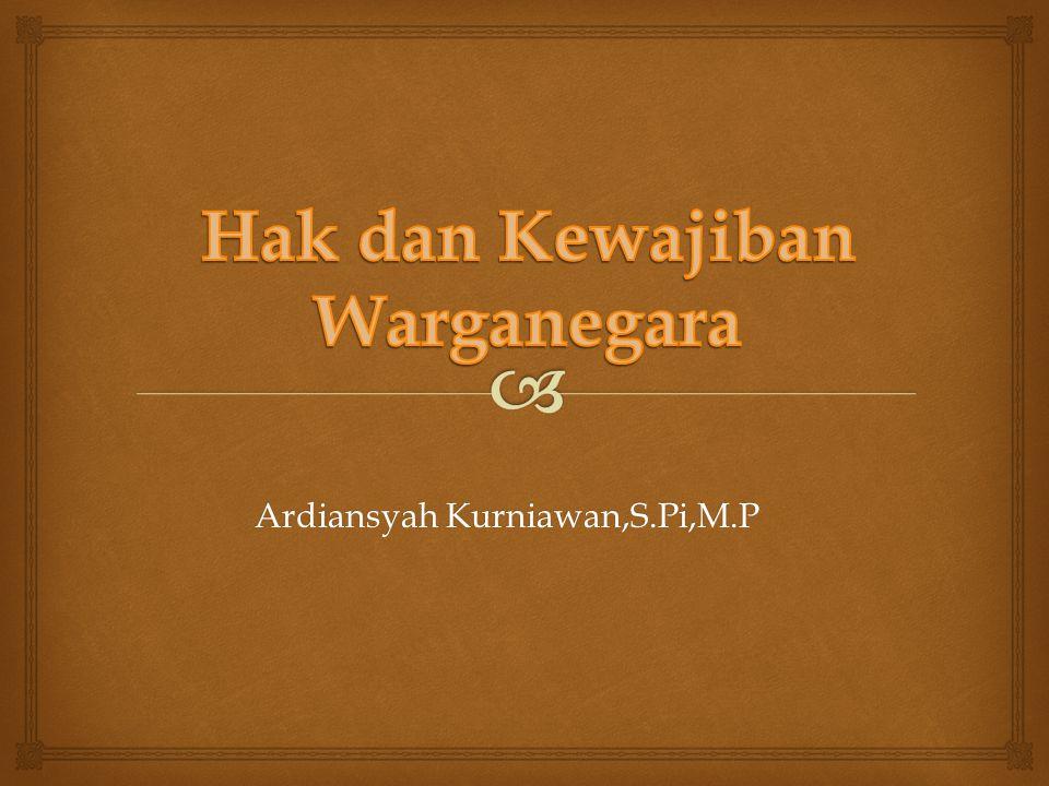 Ardiansyah Kurniawan,S.Pi,M.P