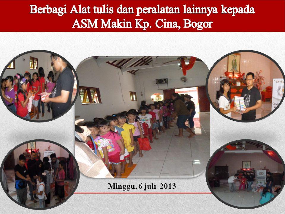 Makin Ciampea, Bogor