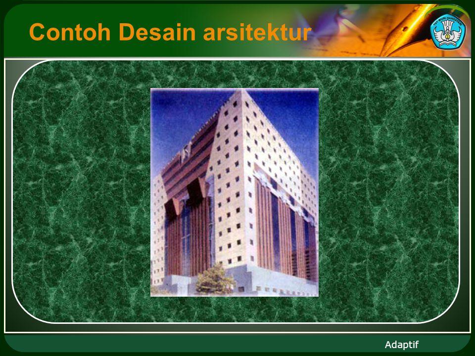 Adaptif Contoh Desain arsitektur