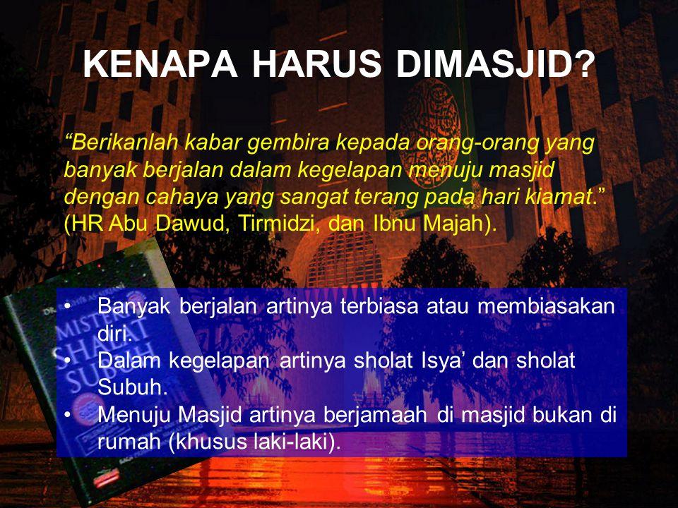 Berkah; Rasulullah SAW menarik perhatian pada sahabat dan perhatian kita dengan pernyataannya bahwa keberkahan itu ada di waktu pagi.