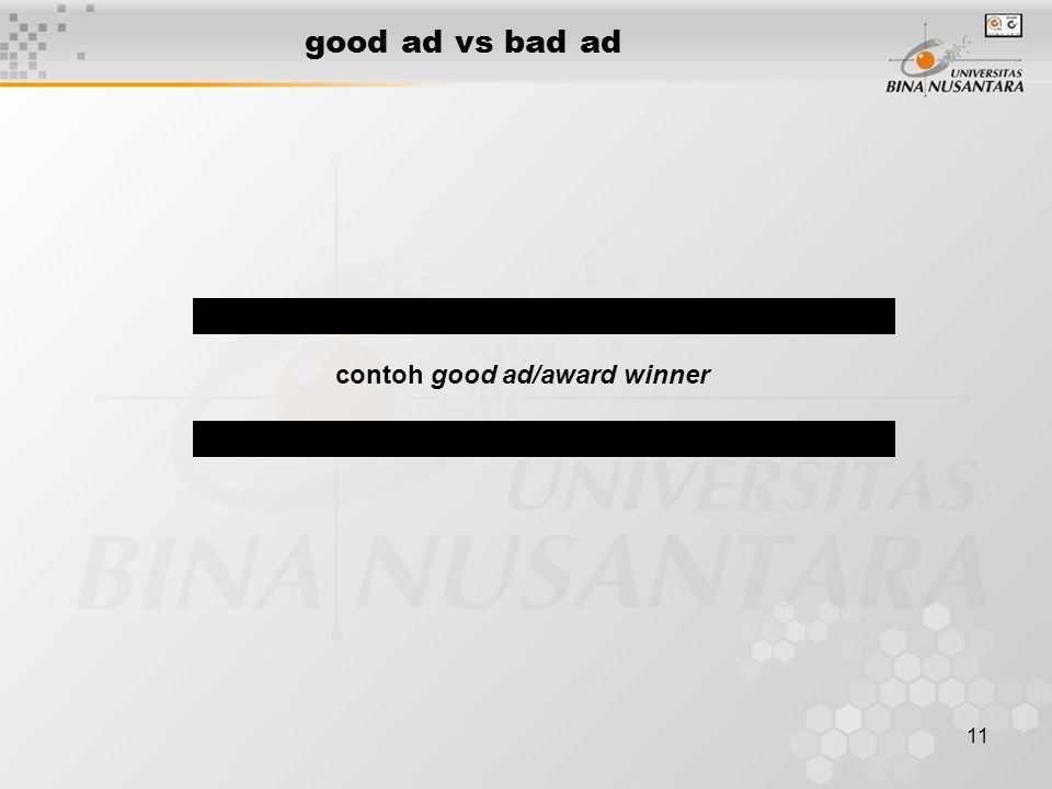 11 good ad vs bad ad contoh good ad/award winner