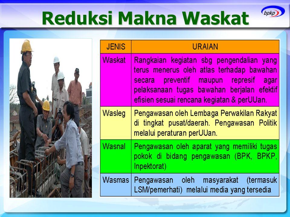 Reduksi Makna Waskat