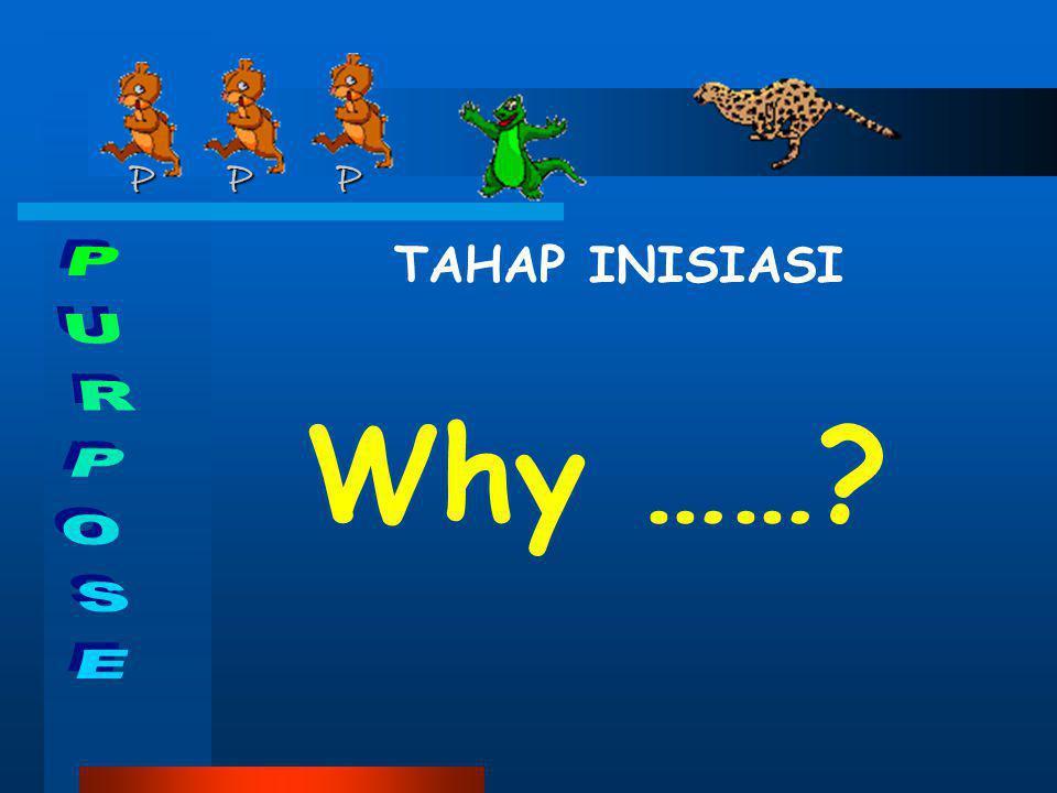 P P P P P P TAHAP INISIASI Why ……?