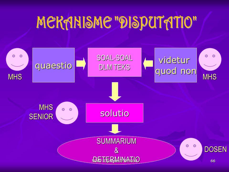 quaestiovidetur quod non solutio MHSMHS SUMMARIUM&DETERMINATIO MHSSENIOR DOSEN SOAL-SOAL DLM TEKS 66MMF/Djokpiet/Fil UGM