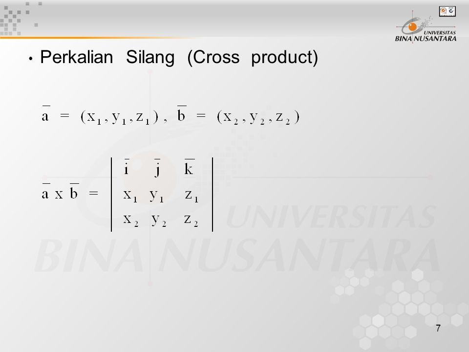 28 4.Tentukan persamaan bidang α yang melalui A(3,2,1), B(1,-2,1), dan C(2,1,3) .
