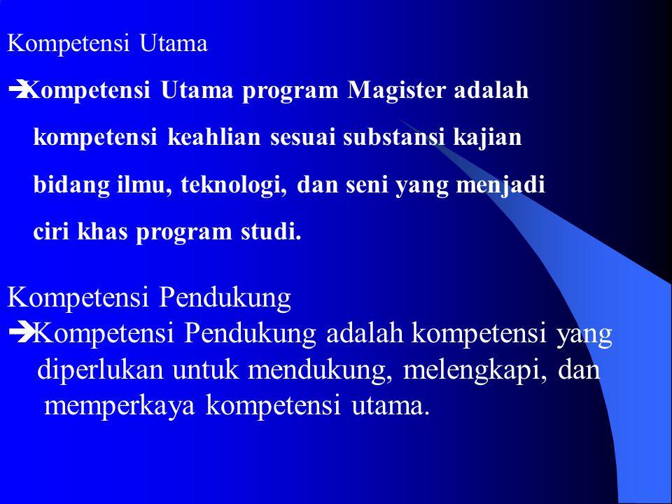 Kompetensi Bidan Komponen Kompetensi Kompetensi Umum diperoleh melalui perkuliahan: • Filsafat Ilmu I • Metode Penelitian I • Statistika I