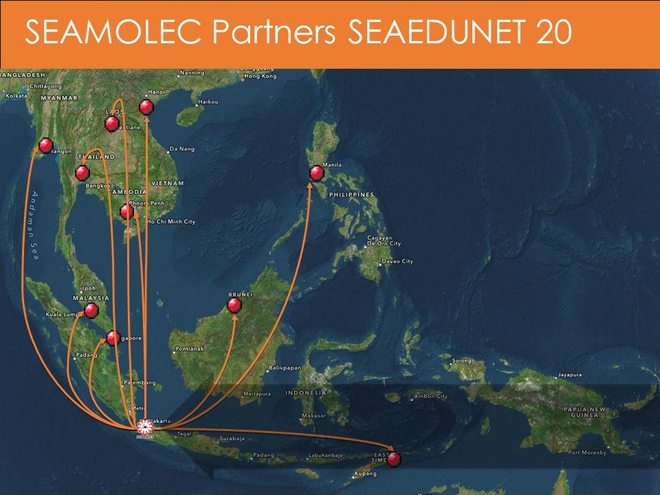 SEAMOLEC Partners SEAEDUNET 20