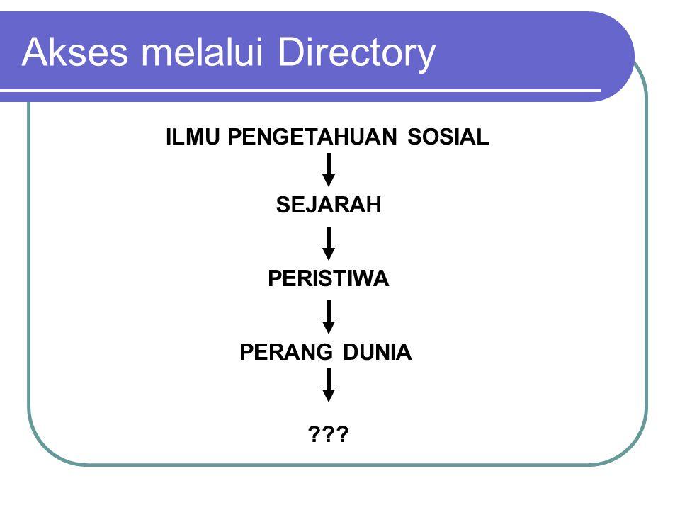 ILMU PENGETAHUAN SOSIAL SEJARAH PERISTIWA PERANG DUNIA Akses melalui Directory