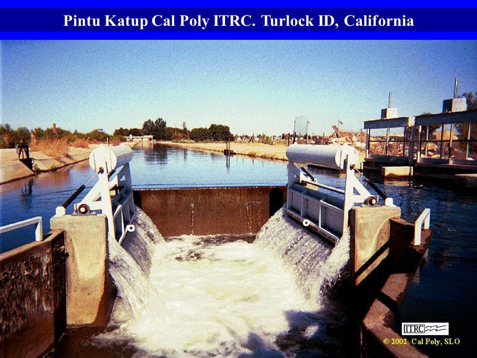 Pintu Katup Cal Poly ITRC. Turlock ID, California
