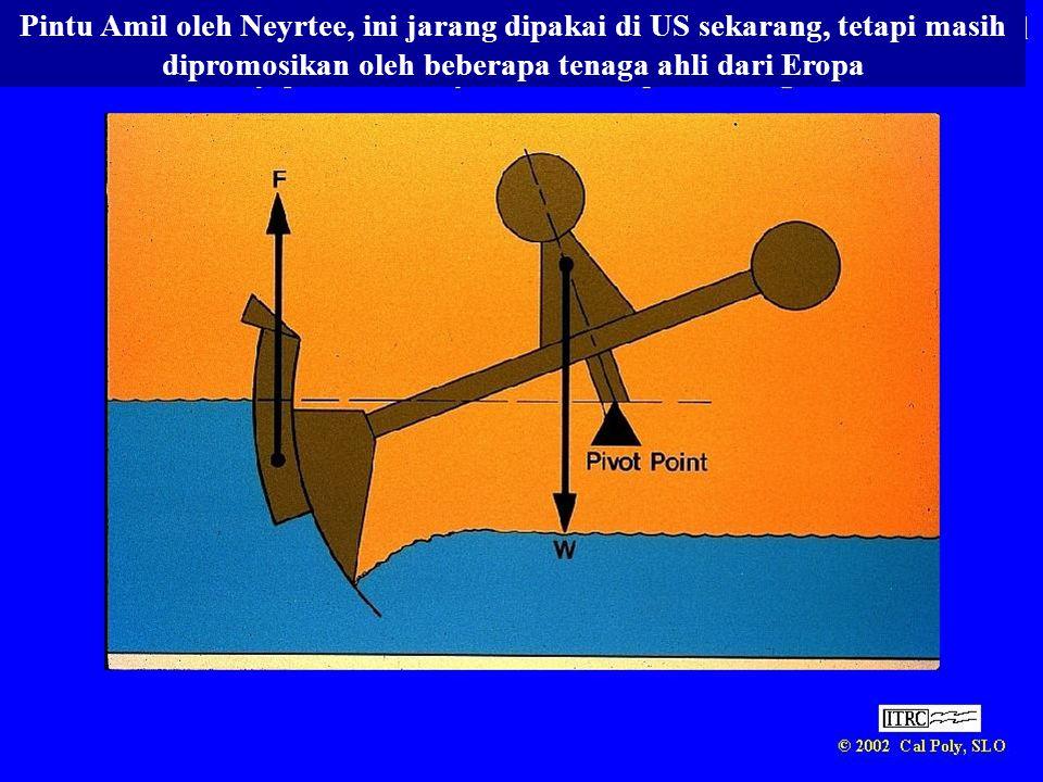 Pintu Amil oleh Neyrtee, ini jarang dipakai di US sekarang, tetapi masih dipromosikan oleh beberapa tenaga ahli dari Eropa