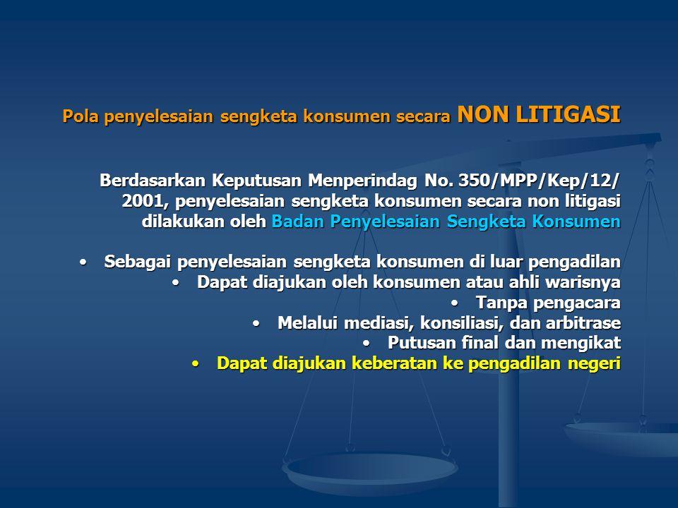 • Asas Musyawarah untuk mencapai Mufakat Kultur hukum masyarakat Indonesia menurut Hukum Adat Indonesia sangat didominasi oleh kultur penyelesaian sen