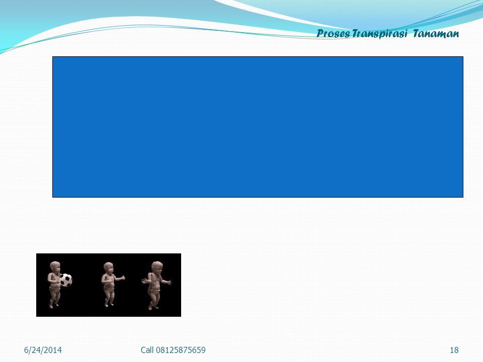 Proses Transpirasi Tanaman 6/24/2014Call 0812587565918