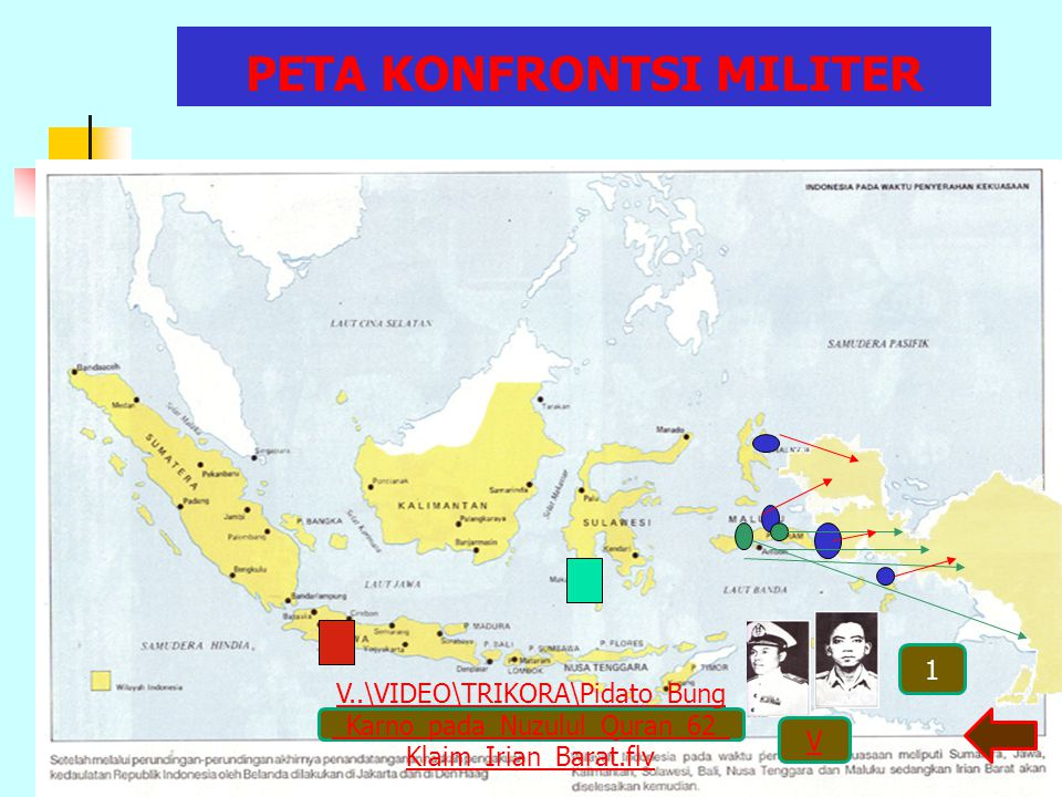 Fase operasi militer pembebasan Irian Barat:  Fase infiltrasi, tujuan untuk membentuk daerah bebas de facto.  Fase eksfloitasi, melakukan serangan t