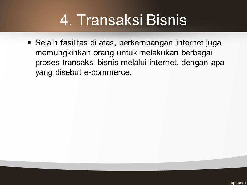 Pemanfaatan Internet Dalam Dunia Bisnis