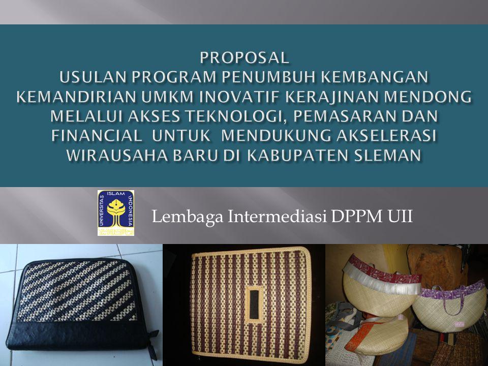 Lembaga Intermediasi DPPM UII