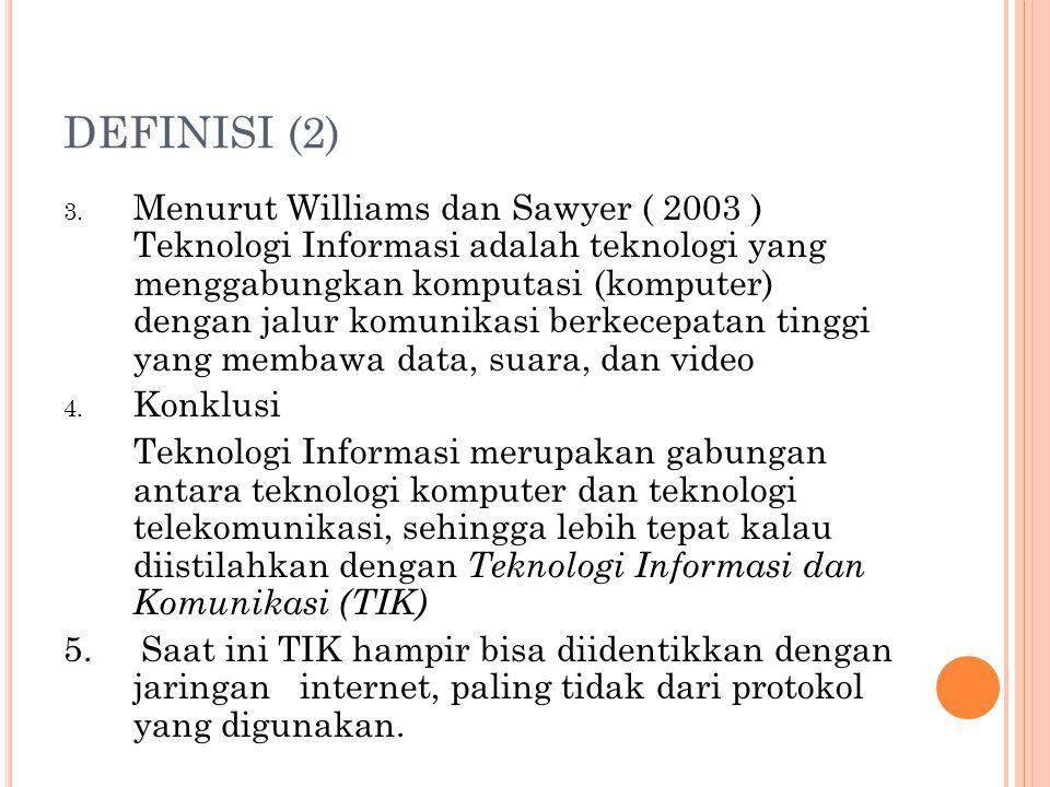 DEFINISI (2) 3.